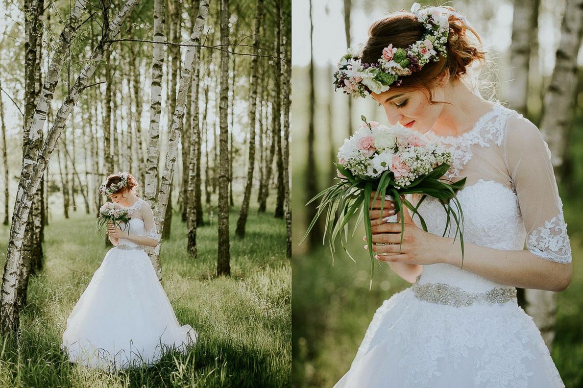 ślubny fotografia ślubna lubelskie plener
