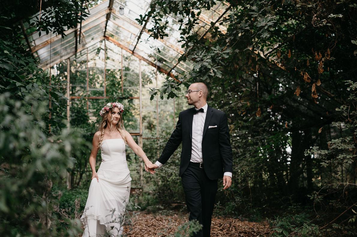 gościniec puławy wesela zdjęcia plener szklarnia