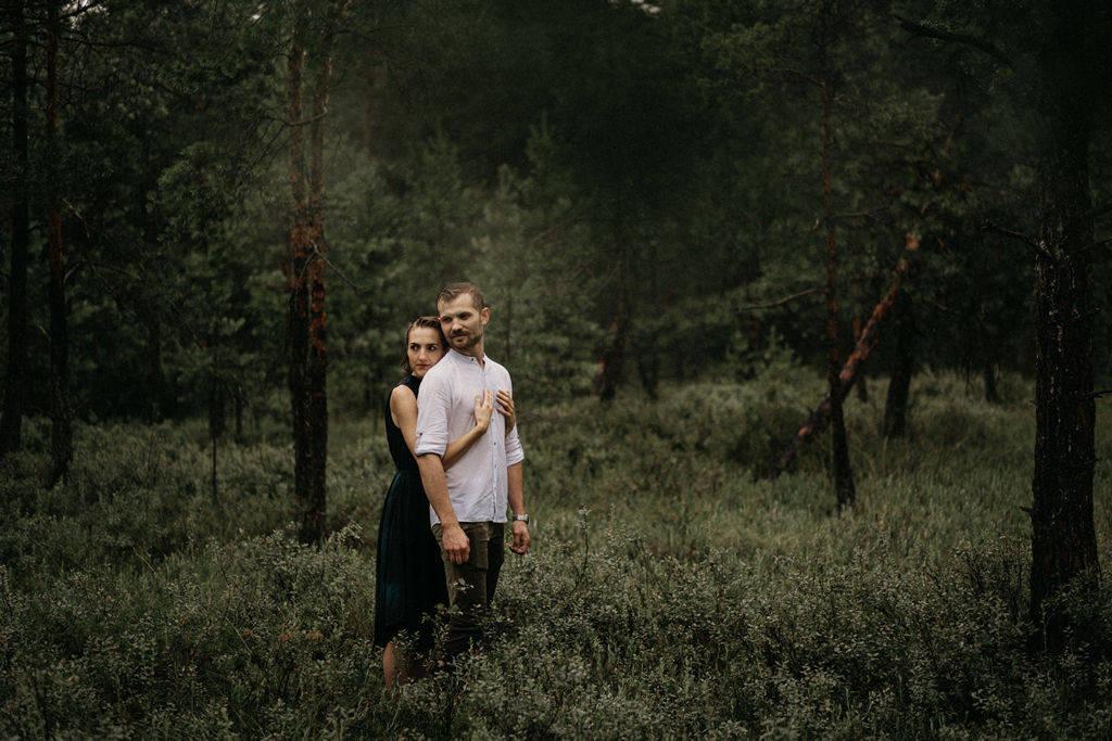Ela i Kamil – gorąca, deszczowa sesja narzeczeńska