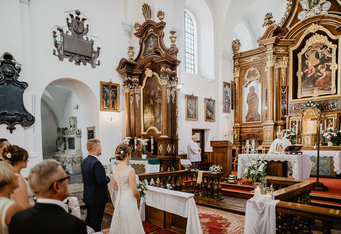 ślub kazimierz fotografia klasztor kazimierzu
