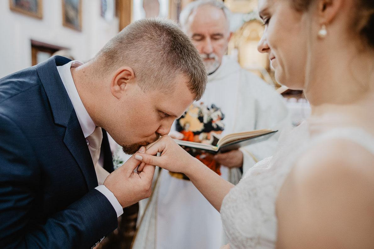 ślub kazimierz fotografia ceremonia ślubna