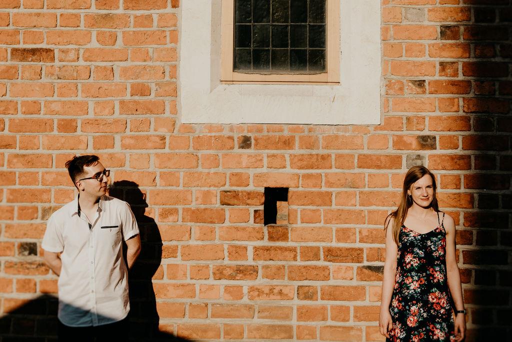 Paulina i Mateusz – miejska sesja narzeczeńska – Lublin
